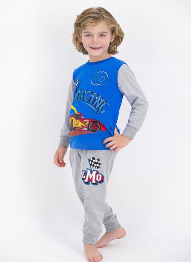 Cars Pijama Takım Mavi